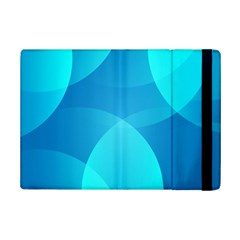 Abstract Blue Wallpaper Wave Ipad Mini 2 Flip Cases