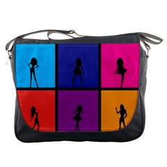 Girls Fashion Fashion Girl Young Messenger Bags by Nexatart