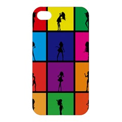 Girls Fashion Fashion Girl Young Apple Iphone 4/4s Premium Hardshell Case