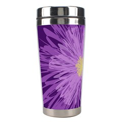 Purple Flower Floral Purple Flowers Stainless Steel Travel Tumblers by Nexatart