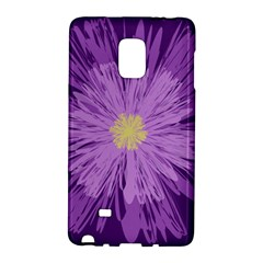 Purple Flower Floral Purple Flowers Galaxy Note Edge by Nexatart