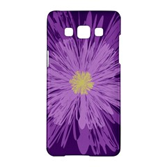 Purple Flower Floral Purple Flowers Samsung Galaxy A5 Hardshell Case