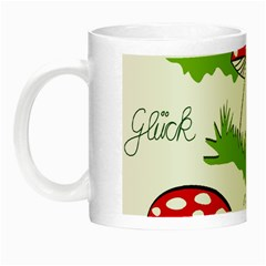 Mushroom Luck Fly Agaric Lucky Guy Night Luminous Mugs