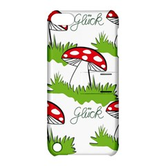 Mushroom Luck Fly Agaric Lucky Guy Apple Ipod Touch 5 Hardshell Case With Stand by Nexatart