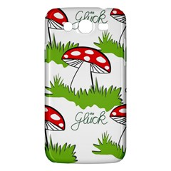 Mushroom Luck Fly Agaric Lucky Guy Samsung Galaxy Mega 5 8 I9152 Hardshell Case  by Nexatart