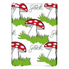 Mushroom Luck Fly Agaric Lucky Guy Ipad Air Hardshell Cases by Nexatart