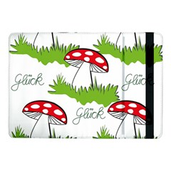 Mushroom Luck Fly Agaric Lucky Guy Samsung Galaxy Tab Pro 10 1  Flip Case