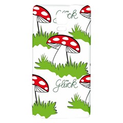 Mushroom Luck Fly Agaric Lucky Guy Galaxy Note 4 Back Case by Nexatart