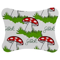 Mushroom Luck Fly Agaric Lucky Guy Jigsaw Puzzle Photo Stand (bow) by Nexatart