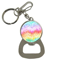 Rainbow Pontilism Background Button Necklaces by Nexatart