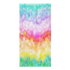 Rainbow Pontilism Background Shower Curtain 36  X 72  (stall)  by Nexatart