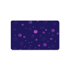 Decorative Dots Pattern Magnet (name Card) by ValentinaDesign