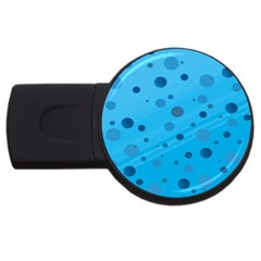 Decorative Dots Pattern Usb Flash Drive Round (4 Gb)
