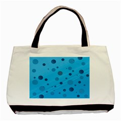 Decorative Dots Pattern Basic Tote Bag by ValentinaDesign