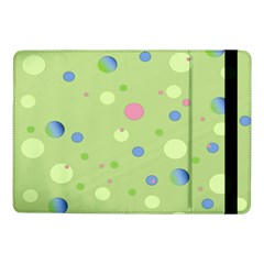 Decorative Dots Pattern Samsung Galaxy Tab Pro 10 1  Flip Case by ValentinaDesign