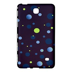 Decorative Dots Pattern Samsung Galaxy Tab 4 (7 ) Hardshell Case  by ValentinaDesign