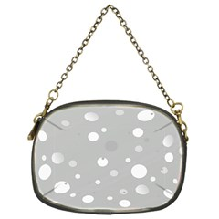 Decorative Dots Pattern Chain Purses (one Side)  by ValentinaDesign