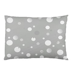 Decorative Dots Pattern Pillow Case by ValentinaDesign