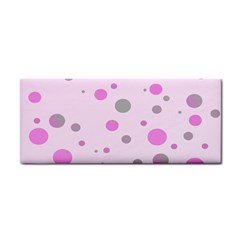 Decorative Dots Pattern Cosmetic Storage Cases by ValentinaDesign