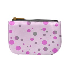Decorative Dots Pattern Mini Coin Purses by ValentinaDesign