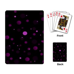Decorative Dots Pattern Playing Card by ValentinaDesign