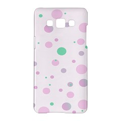 Decorative Dots Pattern Samsung Galaxy A5 Hardshell Case  by ValentinaDesign