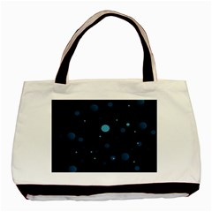Decorative Dots Pattern Basic Tote Bag (two Sides) by ValentinaDesign