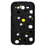 Decorative dots pattern Samsung Galaxy Grand DUOS I9082 Case (Black) Front