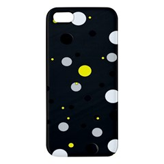 Decorative Dots Pattern Iphone 5s/ Se Premium Hardshell Case by ValentinaDesign