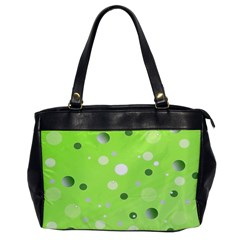 Decorative Dots Pattern Office Handbags by ValentinaDesign