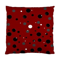 Decorative Dots Pattern Standard Cushion Case (one Side) by ValentinaDesign