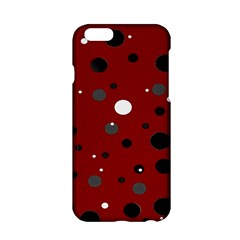 Decorative Dots Pattern Apple Iphone 6/6s Hardshell Case by ValentinaDesign