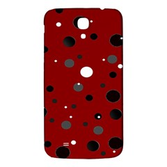 Decorative Dots Pattern Samsung Galaxy Mega I9200 Hardshell Back Case by ValentinaDesign