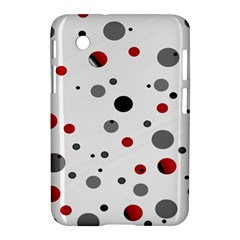 Decorative Dots Pattern Samsung Galaxy Tab 2 (7 ) P3100 Hardshell Case  by ValentinaDesign