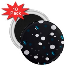Decorative Dots Pattern 2 25  Magnets (10 Pack)  by ValentinaDesign
