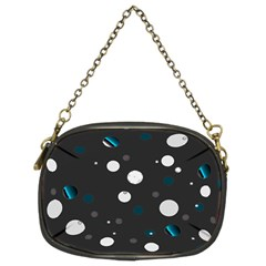 Decorative Dots Pattern Chain Purses (two Sides)  by ValentinaDesign