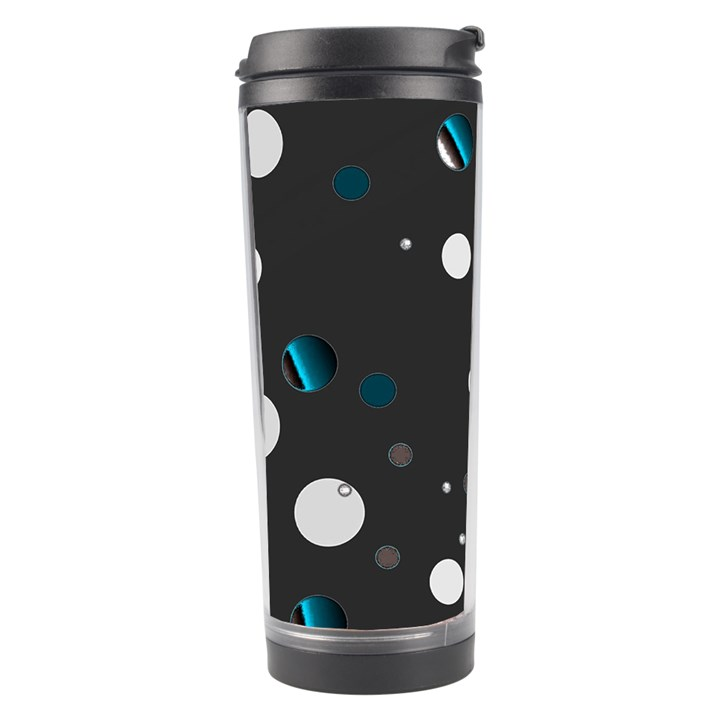 Decorative dots pattern Travel Tumbler