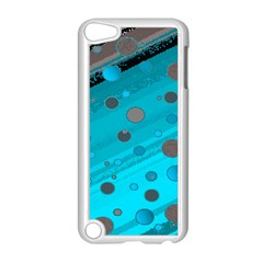 Decorative Dots Pattern Apple Ipod Touch 5 Case (white) by ValentinaDesign