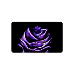 Rose Flower Design Nature Blossom Magnet (name Card)
