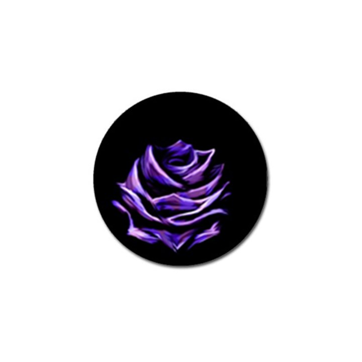 Rose Flower Design Nature Blossom Golf Ball Marker (4 pack)