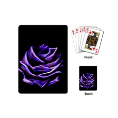 Rose Flower Design Nature Blossom Playing Cards (mini)