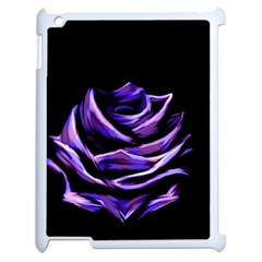 Rose Flower Design Nature Blossom Apple Ipad 2 Case (white) by Nexatart