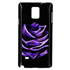 Rose Flower Design Nature Blossom Samsung Galaxy Note 4 Case (black)