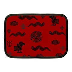 Aztecs Pattern Netbook Case (medium)  by ValentinaDesign
