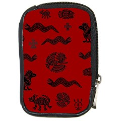 Aztecs Pattern Compact Camera Cases by ValentinaDesign