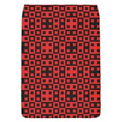 Abstract Background Red Black Flap Covers (s)