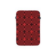 Abstract Background Red Black Apple Ipad Mini Protective Soft Cases by Nexatart