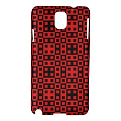 Abstract Background Red Black Samsung Galaxy Note 3 N9005 Hardshell Case by Nexatart
