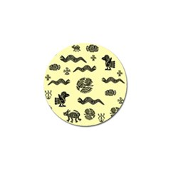 Aztecs Pattern Golf Ball Marker (10 Pack) by ValentinaDesign