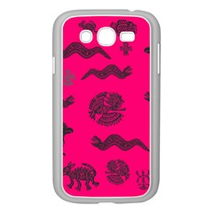 Aztecs Pattern Samsung Galaxy Grand Duos I9082 Case (white) by ValentinaDesign